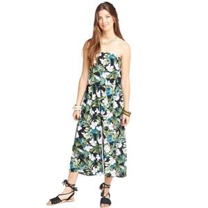 NWT SMYM Estelle Jumpsuit in Monet on Vacay Print